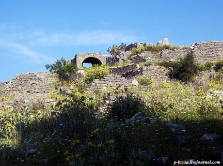 Крепость в Борще