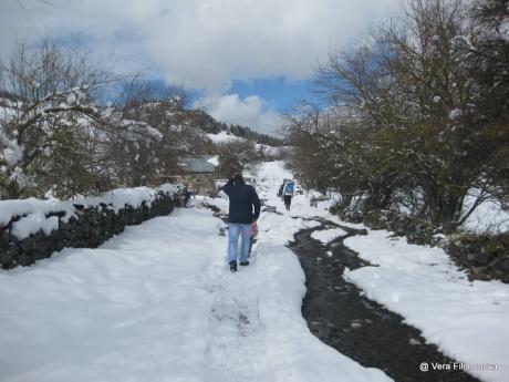 Один мой день в Албании. Суббота в снежных горах