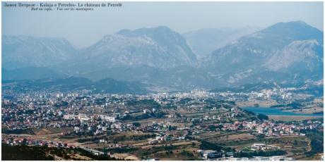 Крепость Петрела - виды на окрестности