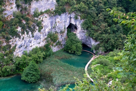 Хорватия: Плитвица и Трогир.