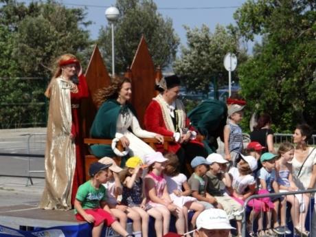 Рыцарские турниры в летнюю жару