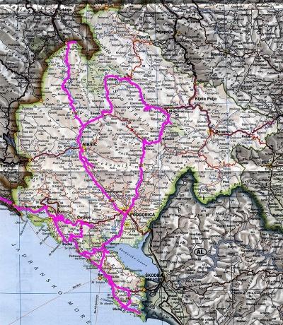 Черногория, сентябрь 2011. Объять необъятное. (Часть 1).