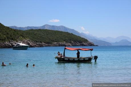 Трстено — это лучший песчаный пляж возле Будвы