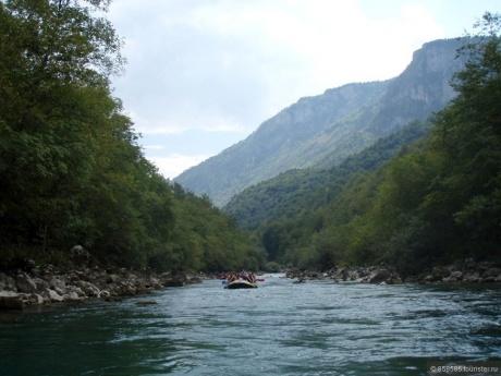 Рафтинг в Черногориии и другие интересности