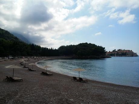 Черногория 2014: Прогулка от Будвы до острова Свети-Стефан и обратно