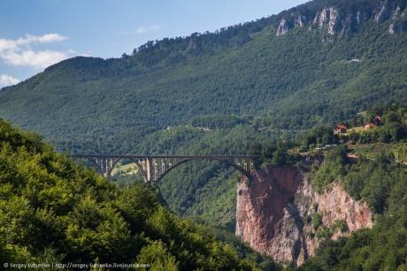 Черногория. Мост Джурджевича и Черное озеро