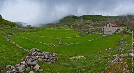 Про ёжиков в тумане черногорского парка Ловчен и Котор с высоты...
