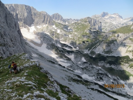 Черногорские горы.