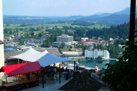 Бледский град в Словении