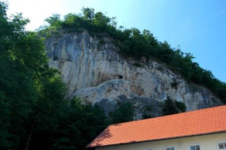 Блед. Словения - По дороге в Бледский град