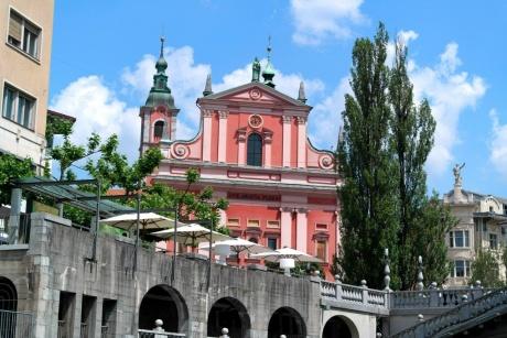 Любляна. Словения - Речная прогулка по Люблянице.