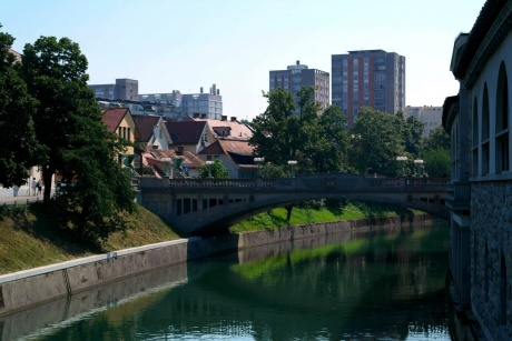 Любляна. Словения - Прогулка по городу ч. 1