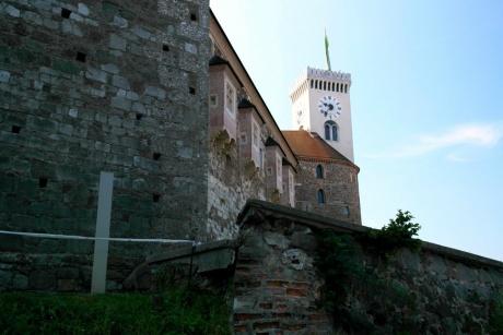 Любляна. Словения - Люблянский град