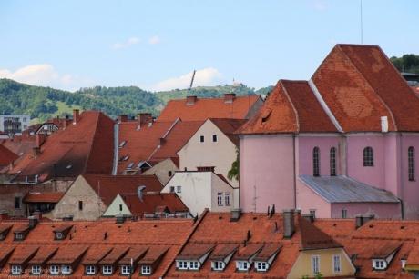 Марибор, сказочный город в Словении.