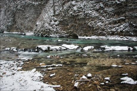 Ущелье Винтгар, Словения