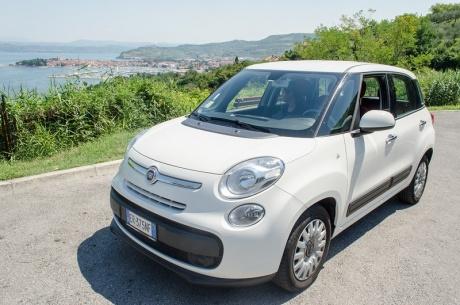 В Словению на Fiat 500.
