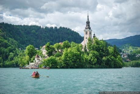 Slovenija. Bled