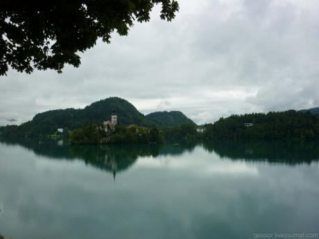 Словения. Любляна. Озера Блед и Балатон.