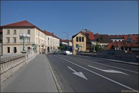 Словения. Прогулки по Любляне