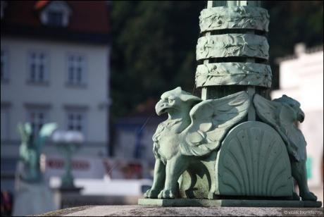 Словения. Замки и не только.Часть третья. Два главных символа Любляны