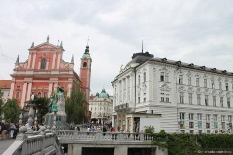 Маленькая столица небольшой страны