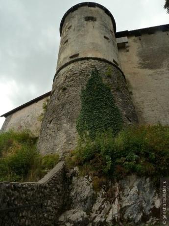 Бледский замок — вторая неожиданность Бледа