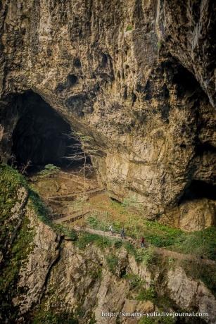 Шкоцянские пещеры