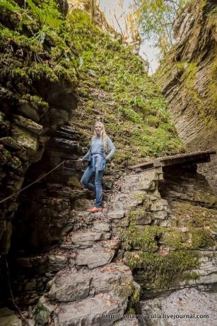 Словения: Водопад Козяк