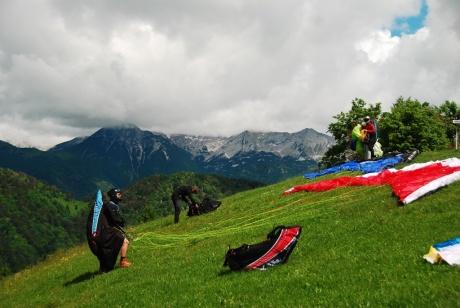 Отчет об июньском флай-туре в Словению