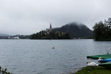 Словения - Пиран, Копер, озеро Блед