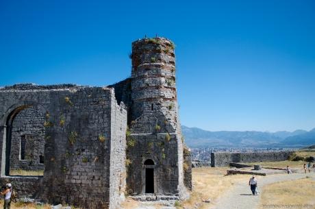 Албания. Шкодер. Замок Розафа.