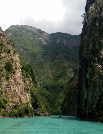 Албания, двухдневная разведка боем из Черногории.