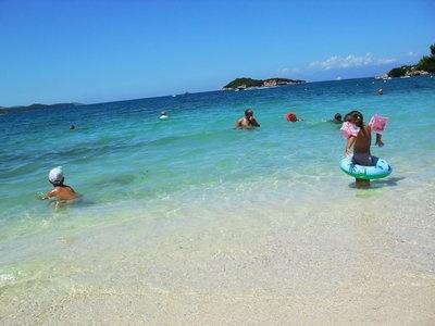 Дети и Море, или Албанское лето в разгаре