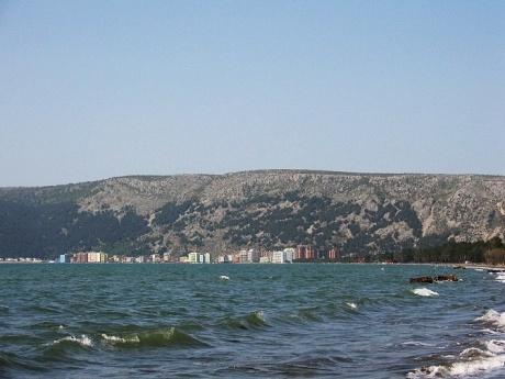 Албания. Пляжи северной части Адриатики. Велипойе, Шенджин, Тале