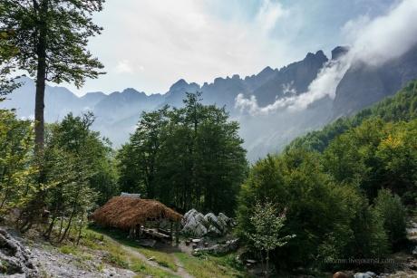 Албания заоблачная . Вальбона - Сэс.