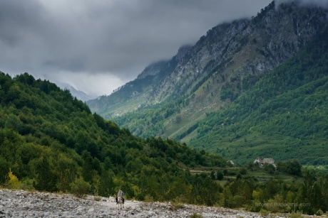 Албанские Альпы. Подъем на перевал.