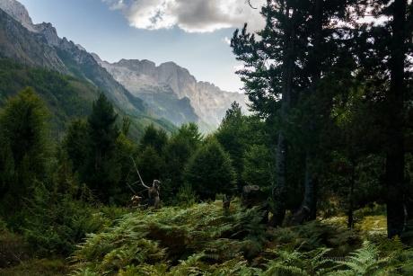 Албанские Альпы. Драгоби - Вальбона.