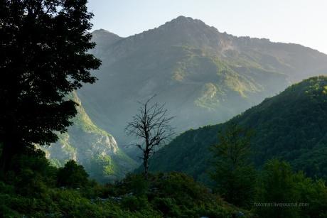 Албания. Утро в Драгоби.