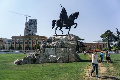 Албания. Тирана.