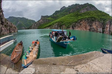 Албанское чудо или самодельный водный автобус Фиерзе-Коман
