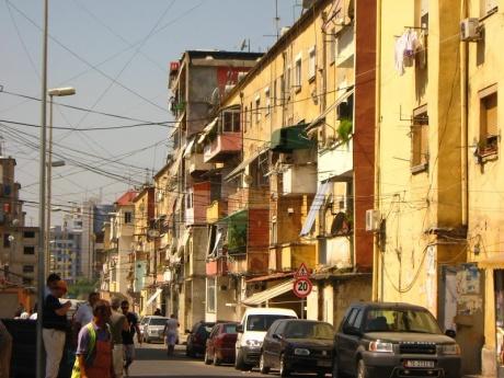 Европейская столица Тирана