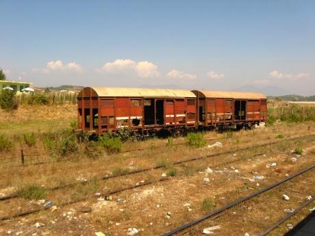Албанские железные дороги