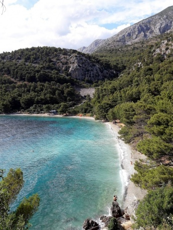 Хорватия на авто. Короткий отпуск в Далмации в июле 2017. Часть 2.