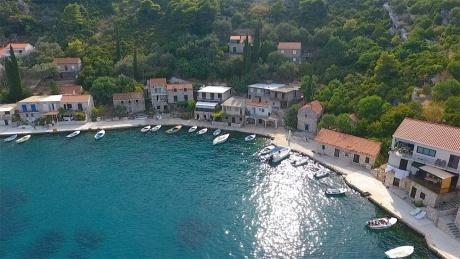 Остров Млет в Хорватии.