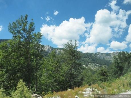 Дорога из Будвы в Жабляк Национальный парк Дурмитор