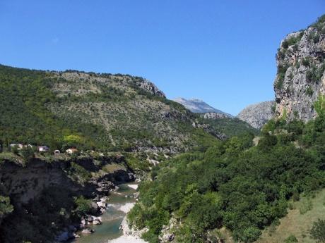 На машине по Балканам! Монастырь Острог и национальный парк Дурмитор.