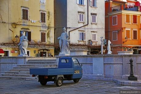 Пиран. Маленькая Словенская Италия