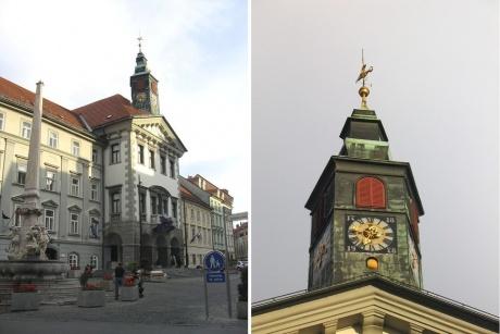 Люблянский Град и ночные дороги Словении