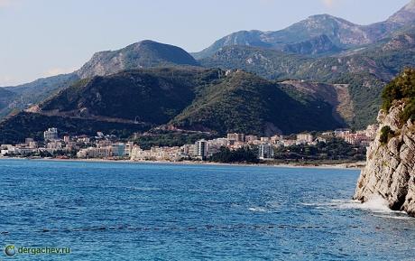 Черногория. Бечичи. Один из самых красивых пляжей Европы