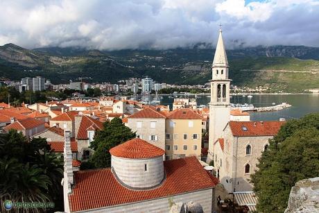 Черногория. Будва. Столица Будванской Ривьеры